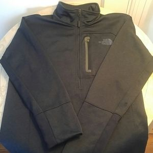 NWT North face quarter zip up. Fleece lined.
